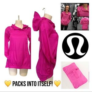 🦄 RARE Lululemon Pack and Go Pullover Paris Pink